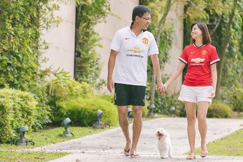 Pre-Wedding Photoshoot at Punggol Waterway (Yu Chze & Serena)