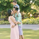 Outdoor Family Photoshoot at Gardens By The Bay and Marina Barrage (Kenny, Esther, Matthew)